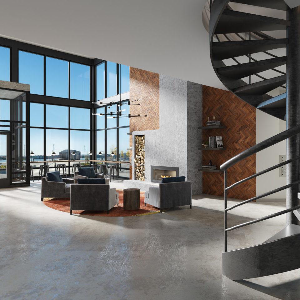Everett Waterfront Place Apartments - Main Lobby